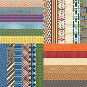 "Picture of All About Fall by Lauren Hinds 2"" Border Strips: Great Guy - Set 12"
